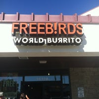 Photo taken at Freebirds World Burrito by Lindsey R. on 11/4/2012