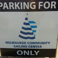 Photo taken at Milwaukee Community Sailing Center by Jim B. on 8/19/2013