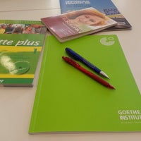 Photo taken at Goethe Institut by Fatih G. on 5/14/2014