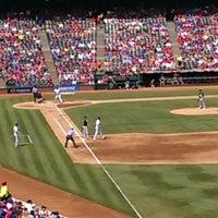 Photo taken at Rangers Ballpark Center Field Gate by Brian M. on 9/15/2013