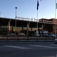 Photo taken at Treviso-Sant'Angelo Airport (TSF) by Giorgia C. on 3/4/2013