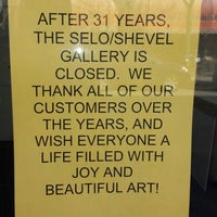 Photo taken at Selo Shevel Gallery by Anthony V. on 3/26/2014