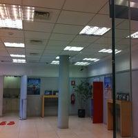 Photo taken at Banco Santander by Shirley S. on 12/26/2012