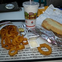 Photo taken at Arby's by Ali K. on 2/12/2013
