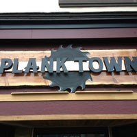 Photo taken at Plank Town Brewing Company by Matt P. on 3/20/2013