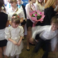 Photo taken at Школа №58 by Анна К. on 4/4/2013