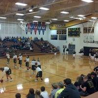 Photo taken at Tri-Center High School by Dan R. on 2/13/2013