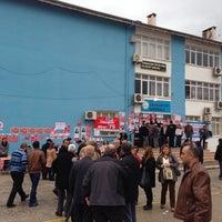 Photo taken at cumhuriyet ilk öğretim okulu by Toprak Ç on 1/25/2014