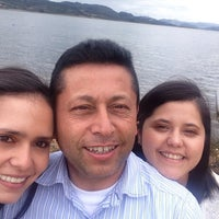 Photo taken at Hostería Guatavita by Cindy L. on 1/19/2014
