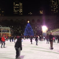 Photo taken at Bank of America Winter Village at Bryant Park by Susan I. on 1/11/2013