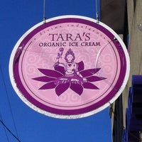 Photo taken at Tara's Organic Ice Cream by ChatterBox Christie on 4/6/2014