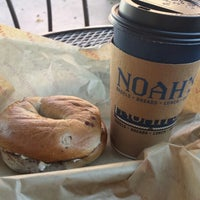 Photo taken at Noah's Bagels by Lairem :) S. on 9/26/2013