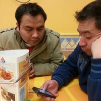Photo taken at Domino's Pizza by Horacio S. on 12/27/2012