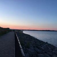 Photo taken at Raritan Bay Waterfront Park by T K. on 8/6/2017