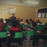 Photo taken at SMAN 6 Bekasi by Lia A. on 1/5/2013