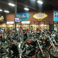 Photo taken at Milwaukee Harley-Davidson by Roberta P. on 6/18/2013