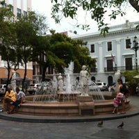 Photo taken at Plaza De Armas by Jose T R. on 5/6/2013