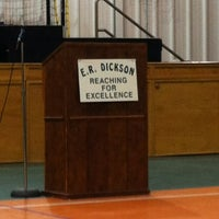 Photo taken at ER Dickson Elementary by Christopher D. on 1/15/2013