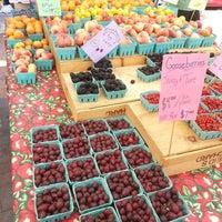 Photo taken at Mt. Pleasant Farmer's Market by Anna J. on 7/27/2013