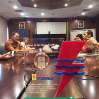 Photo taken at Kantor Induk PLN P3B Jawa Bali by Muhar A. on 11/8/2013