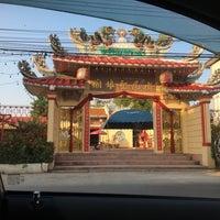 Photo taken at ศาลเจ้าแม่ทับทิม by Khongsak T. on 4/21/2017
