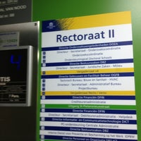 Photo taken at Rectoraat UGent by Naomi W. on 8/13/2013