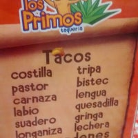 Photo taken at Tacos Los Primos by Daniel D. on 9/3/2014