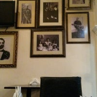 Photo taken at Ali & Nino Cafe by Azer Z. on 1/31/2015