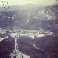 Photo taken at Cannon Mountain Ski Area by eric b. on 2/4/2013