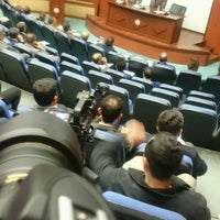 Photo taken at Ahmet Cevdet Paşa Toplantı Salonu by Ali A. on 2/28/2017