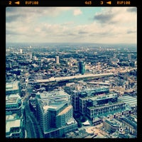 Photo taken at Duck & Waffle by Mark M. on 8/18/2013