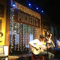 Photo taken at Puckett's Grocery & Restaurant by Bob B. on 5/1/2013