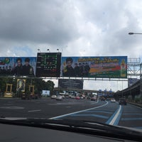 Photo taken at Dao Khanong Toll Plaza by Khae D. on 10/26/2016