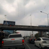 Photo taken at Si Udom Intersection by Khae D. on 4/29/2017