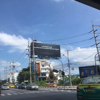 Photo taken at Si Udom Intersection by Khae D. on 11/2/2016