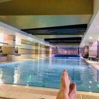Photo taken at Divinus Hotel Wellness by Nuno R. on 2/4/2018