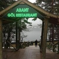 Photo taken at Abant Göl Cafe & Restaurant by 🌹Gülşah İ. on 2/23/2013