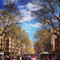 Photo taken at La Rambla by Gustavo G. on 4/3/2013