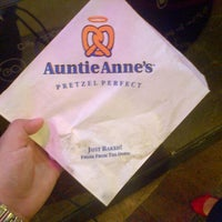Photo taken at Auntie Anne's by Patricia I. on 12/16/2013