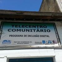 Photo taken at Centro de Inclusão Digital by Thiago A. on 7/31/2013