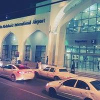 Photo taken at Prince Mohammad Bin Abdulaziz International Airport (MED) by Norman on 5/19/2013