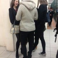 Photo taken at Гимназия № 61 by Masha E. on 1/22/2013