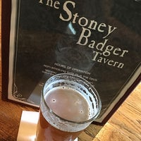 Photo taken at Stoney Badger Tavern by Brewer S. on 4/21/2017