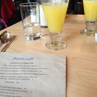 Photo taken at Bijou Cafe by Sherreejane C. on 12/28/2012