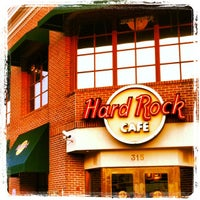 Photo taken at Hard Rock Cafe Memphis by Cem Y. on 1/11/2013
