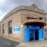 Photo taken at PATH - Harrison Station by Andrew A. on 7/2/2013