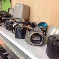 Photo taken at Chrysler Camera Repair by Andrew A. on 1/27/2014