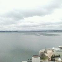Photo taken at Hilton Madison Monona Terrace by Jack B. on 4/12/2013