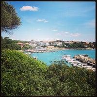 Photo taken at Spiaggetta La Rava by Davide C. on 5/27/2013