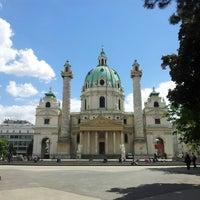 5/13/2013 tarihinde Volkova G.ziyaretçi tarafından Karlskirche'de çekilen fotoğraf